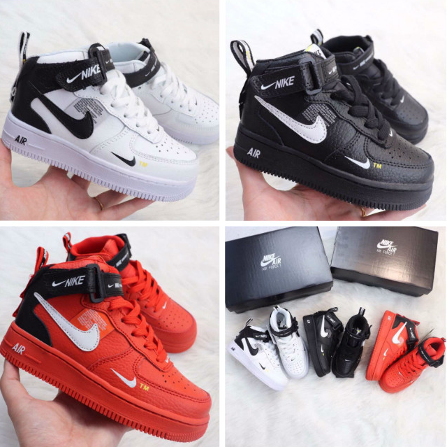 Air Force 1 07 LV8 Utility Pack Men s Skateboarding Shoes Sneakers Athletic Kid Designer Size