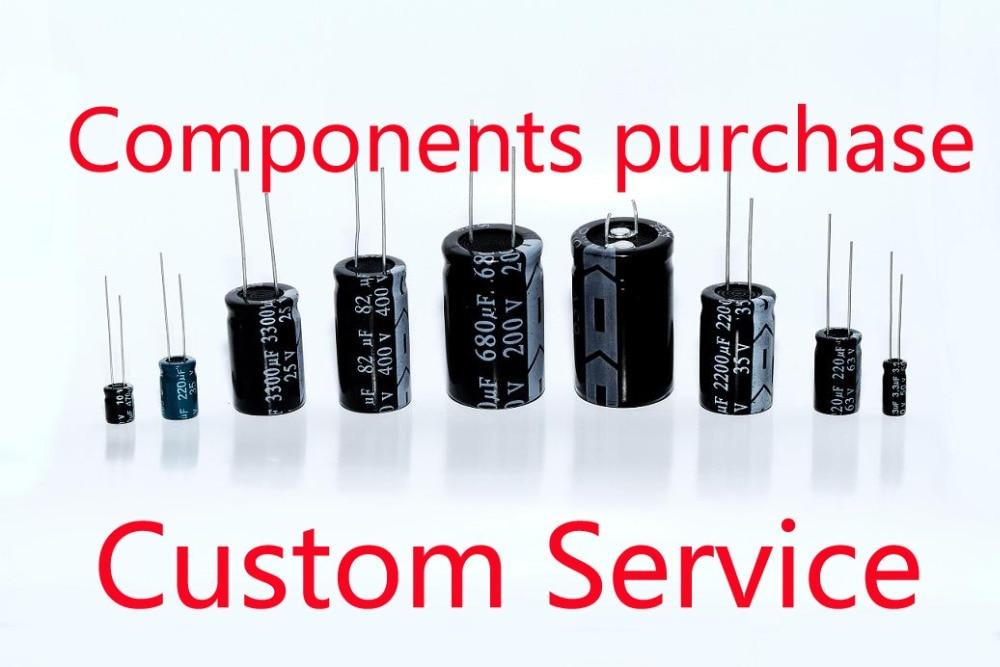Custom service Wholesale electronic parts Kit bomlist components ...