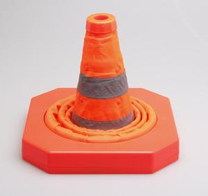Image 4 - MYSBIKER Collapsible Traffic Cone 15,5 Inches, Multi Purpose Pop up Reflective Safety Cone