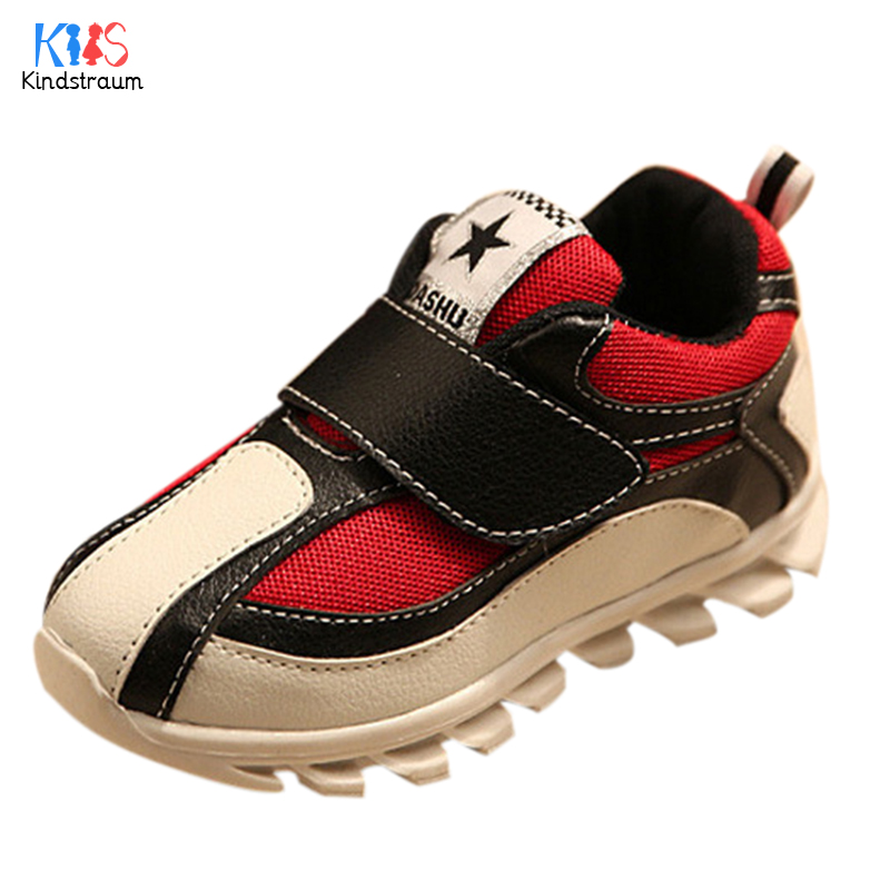 2017 Spring Autumn Children Waterproof Sneakers New Boys Girls Hook Sports Shoes Breathable Causal Wear for