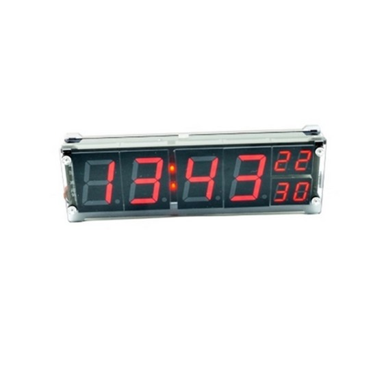 1.2 inch Desktop Large Digital LED Display Clock Precision Electronic Clock With Temperature Car Alarm Indoor Lighting Sign