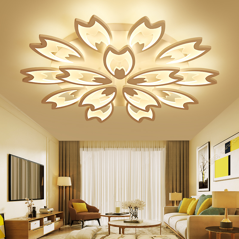 2018 Sale Lustre Acrylic Modern Led Ceiling Lights For Living Room Bedroom Dining Lamp For Home Lighting Fixtures Free Shipping