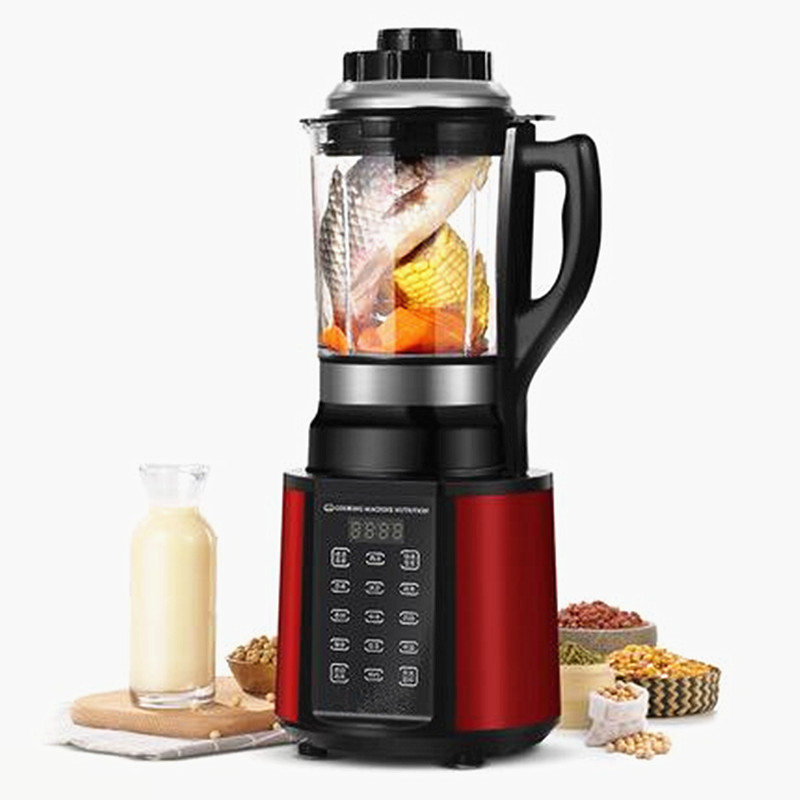 220V Electric Juicer Household Automatic Soymilk Machine Bean Milk Juicer With Heating Function Can Crush Bowl EU/AU/UK цена и фото