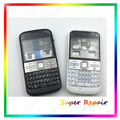 New Complete Full Housing Cover Case +Keypads For Nokia E5 E500 E5-00 Housing Black White Color +Tools Free Shipping