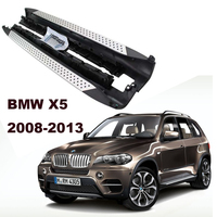 For BMW X5 E70 2008 2013 Car Running Boards Auto Side Step Bar Pedals High Quality