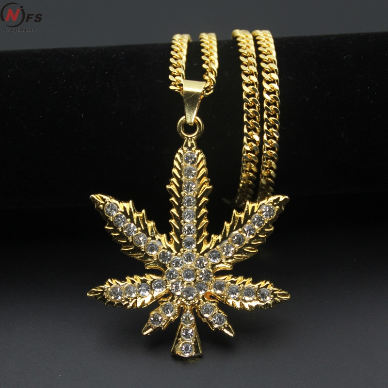 Online buy wholesale hemp pendants necklaces from china hemp nfs vintage gold silver color hemp pendants necklaces women men rhinestone hip hop jewelry gifts weed aloadofball Images