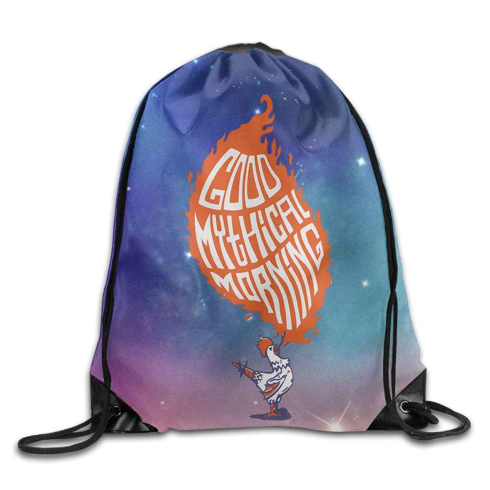 new product d4d0f 0e202 ... SAMCUSTOM Good Mythical Morning 3D Shoulders Bag Fabric Backpack men  and women Port Drawstring Travel Shoes ...