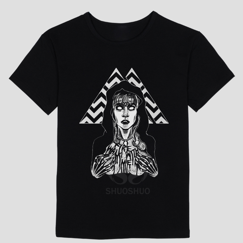 New Fashion Brand Men Clothes Twin Peaks T-shirt Slim Fit T Shirt Men T-Shirt Casual T Shirts