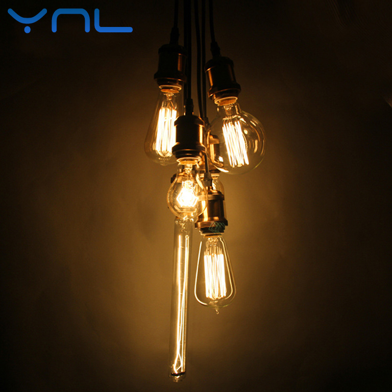 Incandescent bulb st64 G80 G95 vintage edison bulb e27 Retro lamp 220v holiday lights 40w Decorative lampada ilament Light bulb ...