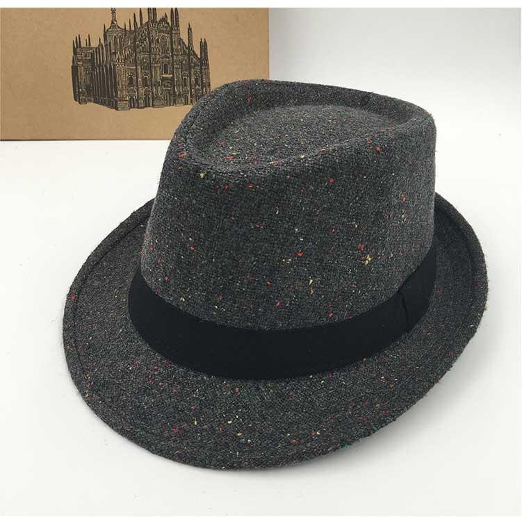 Sombreros y gorras Sombreros de fieltro Fedora sombreros para ... 1d831c6f7337