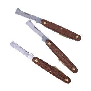 Image 5 - Sennan jardim dobrável enxertia faca de poda mudas cortador de árvore tesoura ferramenta de corte
