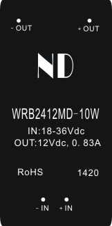 цена на 1pcs 2016 new dc-dc power module 24V to 12V 10W regulated isolated dc dc converter quality goods