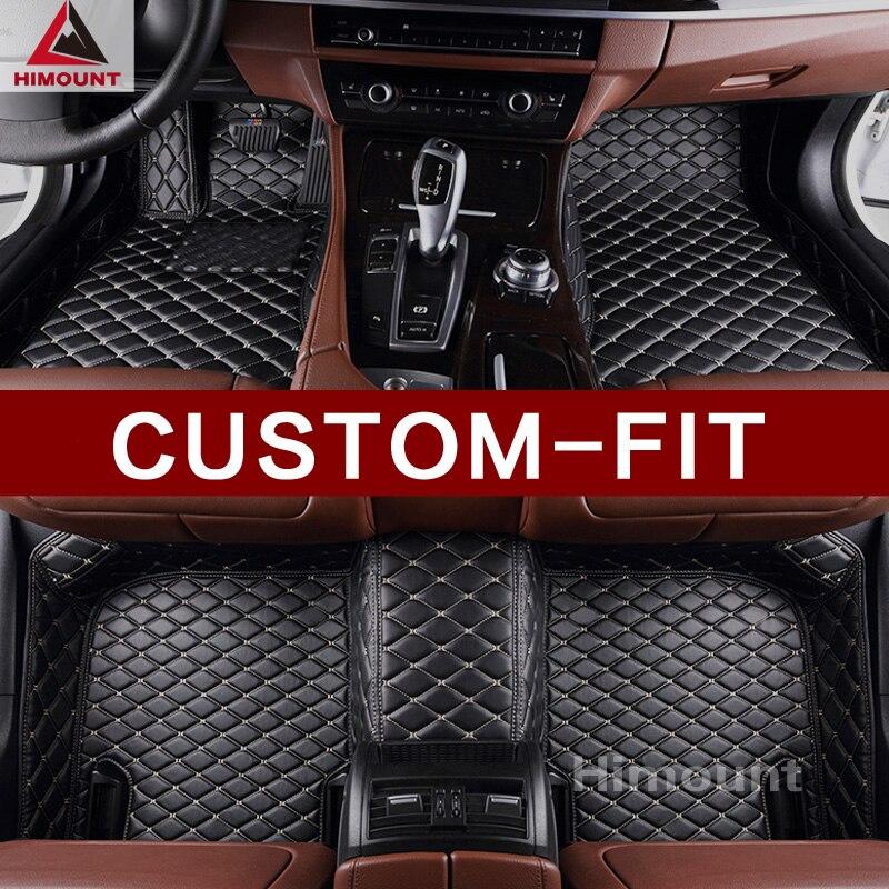 Ajustement personnalisé tapis de sol voiture pour Audi A1 A3 A4 B6 B7 B8 B9 A5 A6 C6 C7 A7 allroad sportback A8 A8L Q3 Q5 Q7 R8 TT tapis tapis doublures