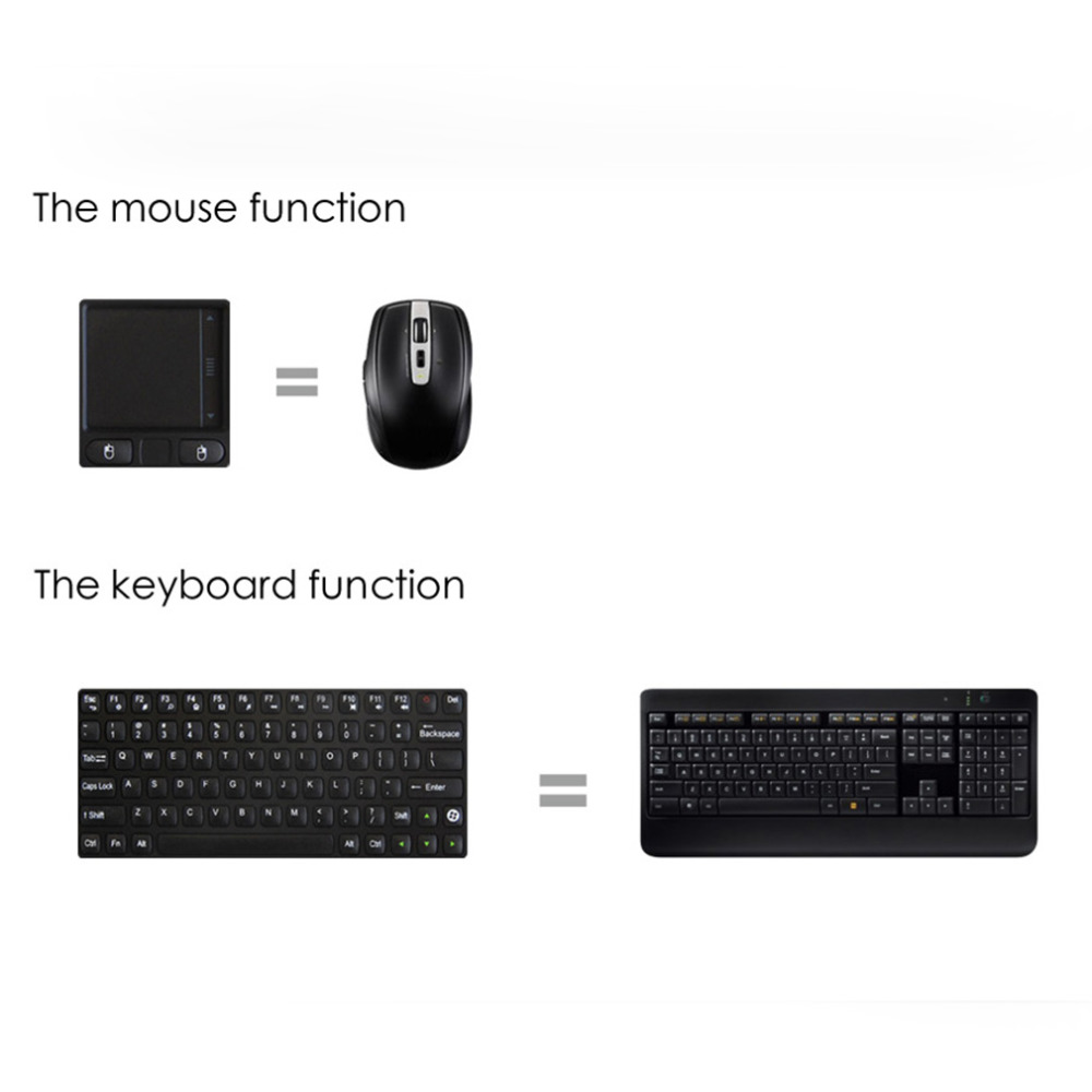 New RC8 3-in-1 Mini 2.4G USB Wireless Keyboard Air Fly Mouse Touchpad Remote for Mini PC Android TV Box package Wholesale