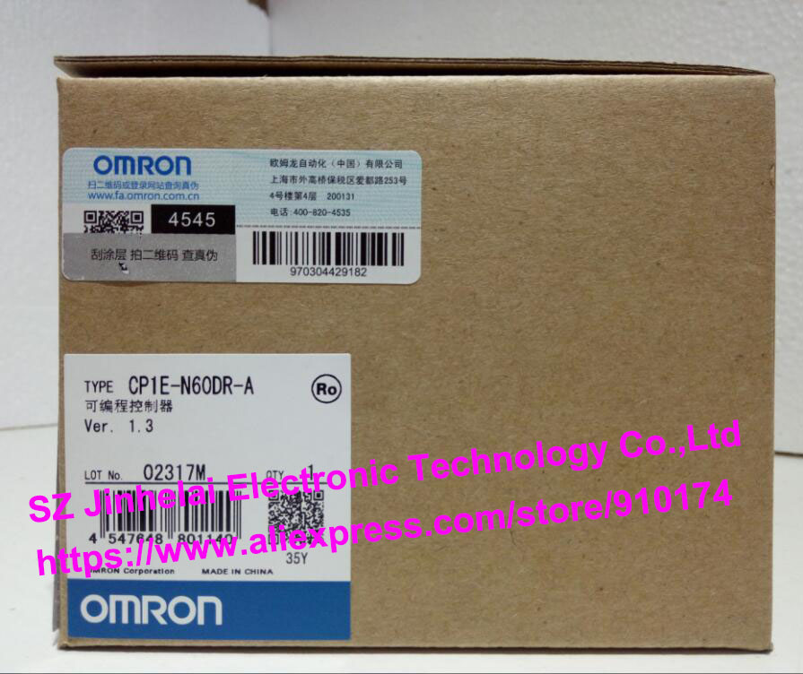 100% New and original CP1E-N60DR-A OMRON PLC CONTROLLER new original programmable logic controller cp1e n60dr a rc full replace cp1e n60dr a 100 240v