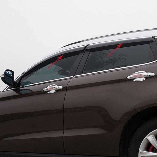 For Ford Kuga Escape 2013 2014 2015 Side Window Visor Vent Shade Rain Sun Wind Guard Deflectors Awnings shelters 4PCS