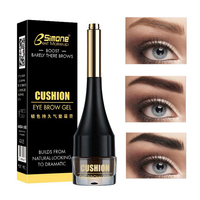 Fashion 4Colors Eyebrow Gel Cream With 1 Brush Natural Eye Brow Makeup  Stereo Enhancers Waterproof Longlasting Cosmetics Makeup