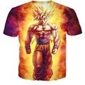 New 3D T Shirt Men Dragon Ball Hero Tshirt Homme 2016 Mens Anime Fashion Son Goku Printed Funny T shirts Slim Tee Shirt T-shirt