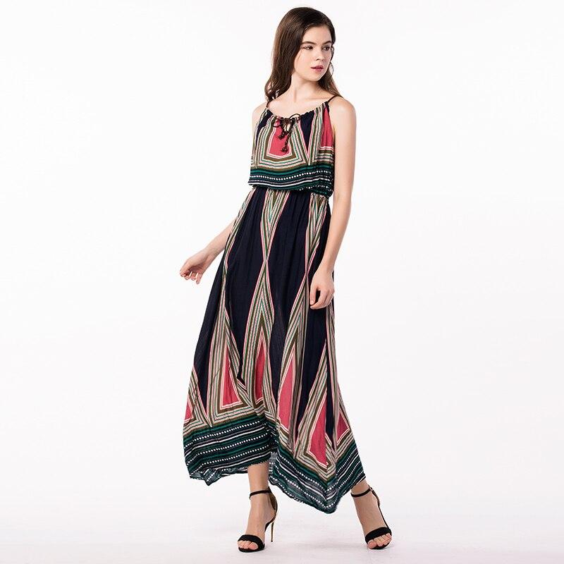 d3f2425957 Compre Atacado Tailândia Vestidos Plus Size Mulheres Roupas Long ...