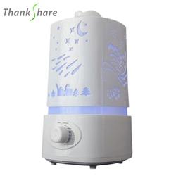 1500 мл ультразвуковой увлажнитель воздуха для дома Эфирные масла диффузор humidificador тумана 7 видов цветов LED Арома диффузор Ароматерапия