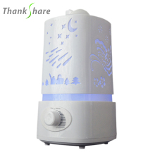 Free Shipping Hot Sale Led Lamp Cool Mist Aroma Diffuser Humidifier For Home/Office HI0195