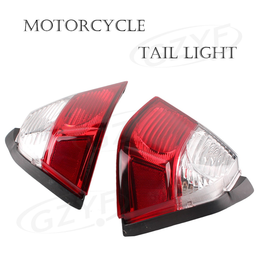 GZYF For Honda Goldwing GL1800 2006 2007 2008 2009 2010 2011 Taillight Rear Tail Light Lens Cover