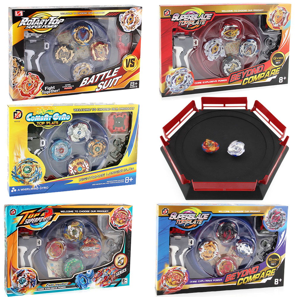 Hot 12 set Beyblade Arena Spinning Top Metal Fight Bey blade Metal Bayblade Stadium Children Gifts Classic Toy For Child