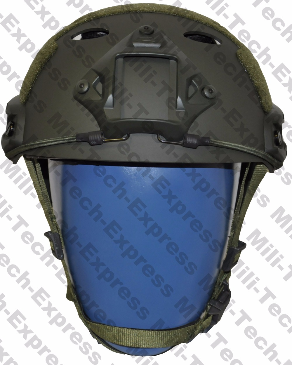 FAST OD PJ Carbon Style Vented Airsoft Tactical Helmet / Ops Core Style High Cut Training Helmet / FAST Ballistic Style Helmet. fast kryptek fa style super abs airsoft tactical helmet ops core style high cut training helmet fast ballistic style helmet