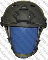 SNELLE OD PJ Carbon Stijl Vented Airsoft Tactical Helm/Ops Core Stijl Hoge Cut Training Helm/SNELLE Ballistische Stijl Helm.