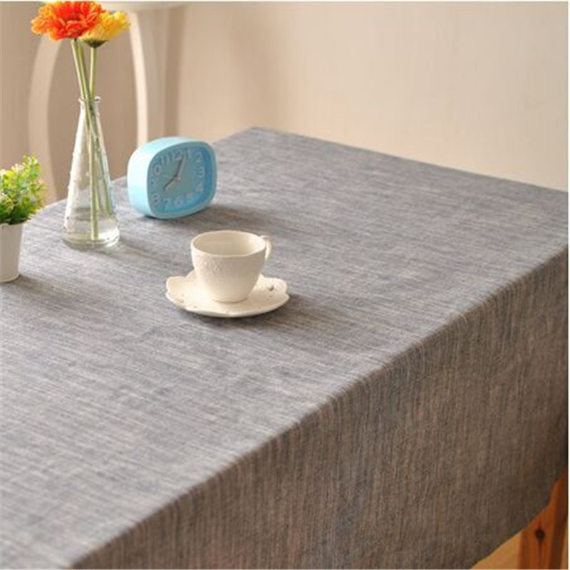 US $9 49 41% OFF|Solid color Japanese style striped with simple theatrical  drape factory outlets table cloth fabrics Home Decoration-in Tablecloths