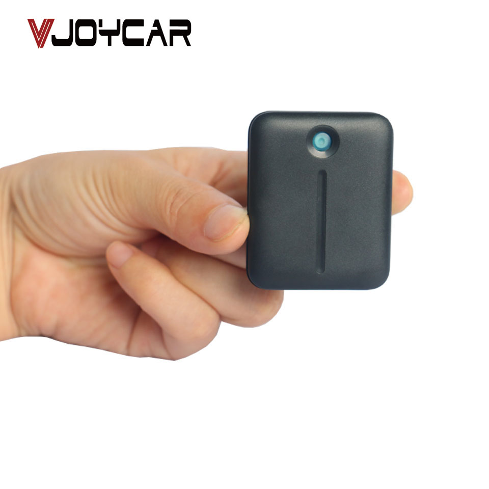 цена VJOYCAR T510 Micro Keychain GSM GPRS Mini GPS Tracker For Kids Pet Camera Bicycle Senior Car Locator Tracking FREE Map Software