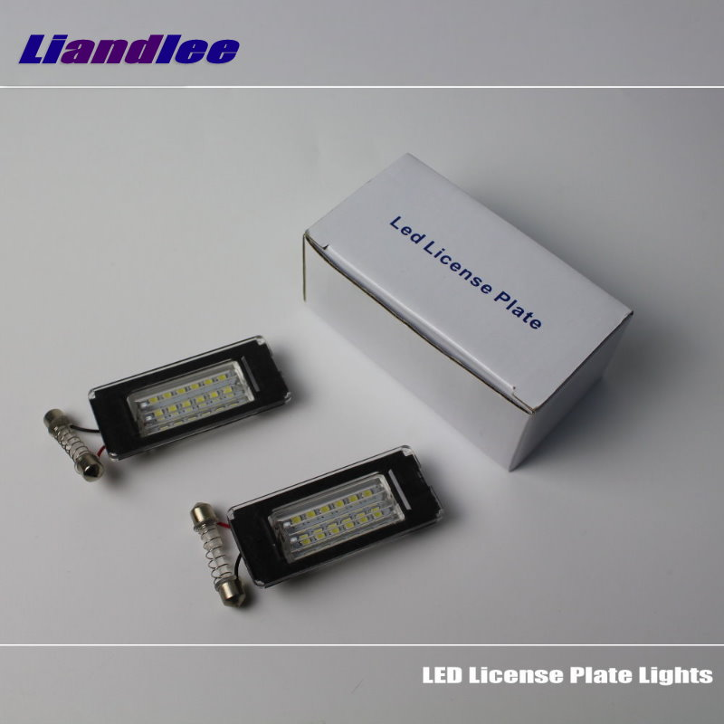 Liandlee For BMW MINI R56 / Mini Cooper S 2006~2013 / LED Car License Plate Light / Number Frame Lamp / High Quality LED Lights набор приспособлений для обслуживания грм двигателя bmw n12 mini cooper jonnesway al010079