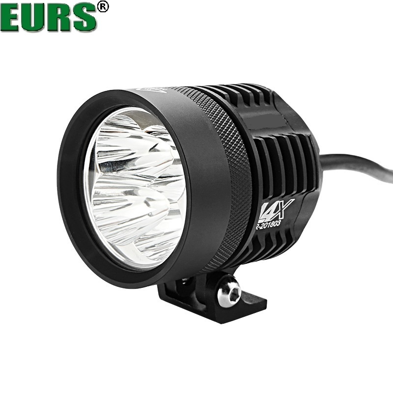 Automobiles & Motorcycles Strong-Willed Eurs 40w 6500k Motorcycle Headlights Lamp L4x Led Spotlight Accessories 12v Motor Spot Head Lights Shop Street Lamp 7000k Auto Promoting Health And Curing Diseases