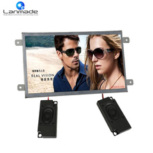 10inch real 1080P retail store equipment lcd digital signage tv H.264 high definition media player for supermarkets