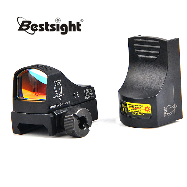 Doctor III Mini Red Dot Sight Optics Riflescope Holographic Sight Auto Brightness Sight Hunting Scopes Reflex Sight for Airsoft
