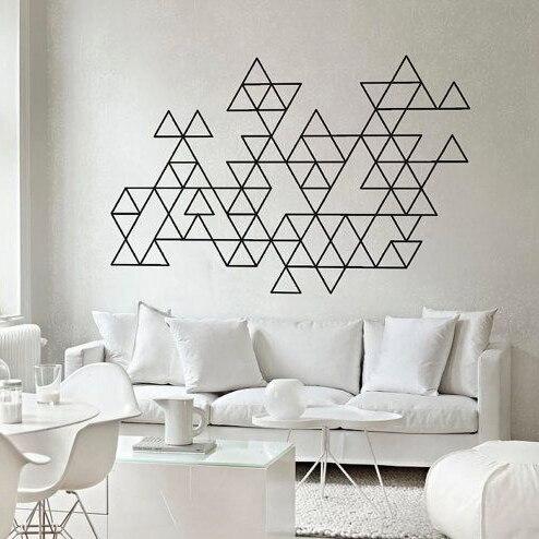 Dreieck Muster Wandtattoo Fur Dreieck Kinder Wandtattoo Fur