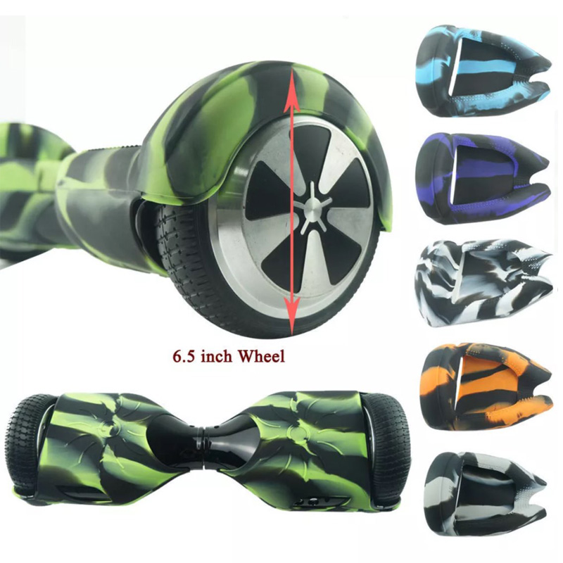 Koowheel Hoverboard Silicone Shell Case Cover Waterproof Protector for 6.5 Inch 2 Wheels Smart Self Balancing Electric Scooter