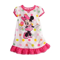 Polka Dots Vestido Minnie Casual Girls Dresses Summer 2017 Vestido Infantil Baby Girl Dress Kids Clothes