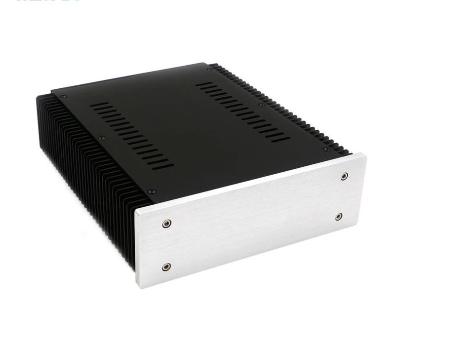 ZEROZONE DIY Aluminum amplifier chassis linear power supply box case 212 70 257mm L9 2