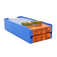 10pcs DCMT11T304 DCMT11T308 HMP PC9030 NC3030 KORLOY Carbide Inserts Cutter Blade CNC Lathe External Turning Tool SDJCR1616H11