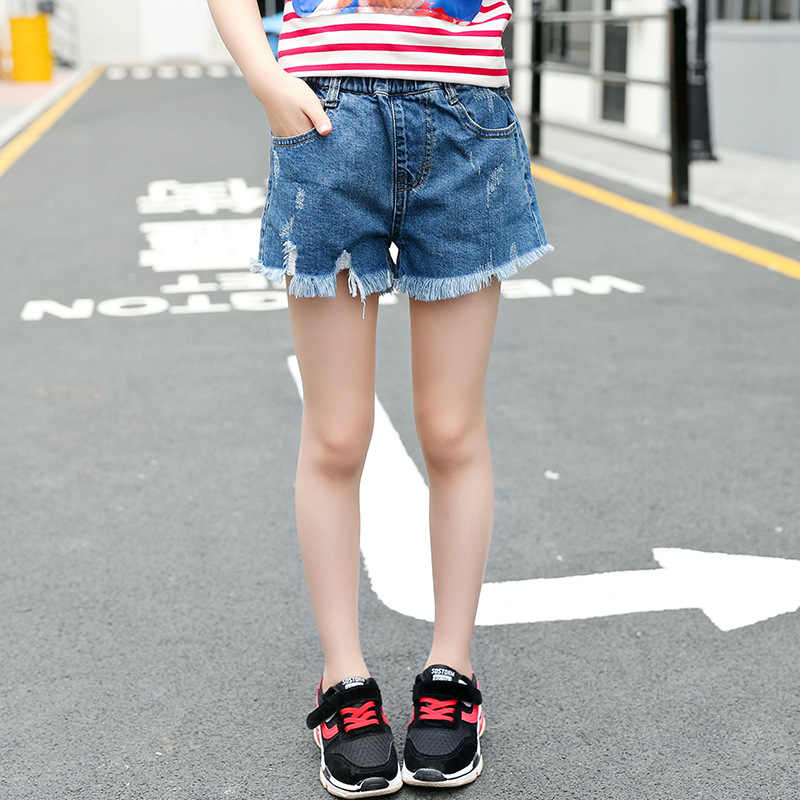 Kleding On.Detail Feedback Questions About Ripped Jeans Shorts For Girls 5 6 7