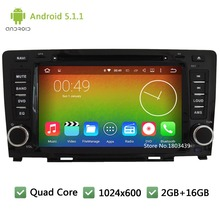 Quad Core 16GB Android 5.1.1 8″ HD 1024*600 FM 3G Car DVD Player Radio Audio Stereo Screen GPS PC For Great Wall Hover Haval H6