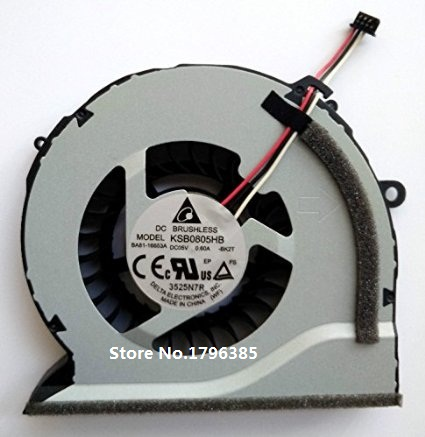 SSEA New Laptop CPU fan for Samsung NP550P5C NP550P7C NP-550P5C NP-550P7C Series KSB0805HB image