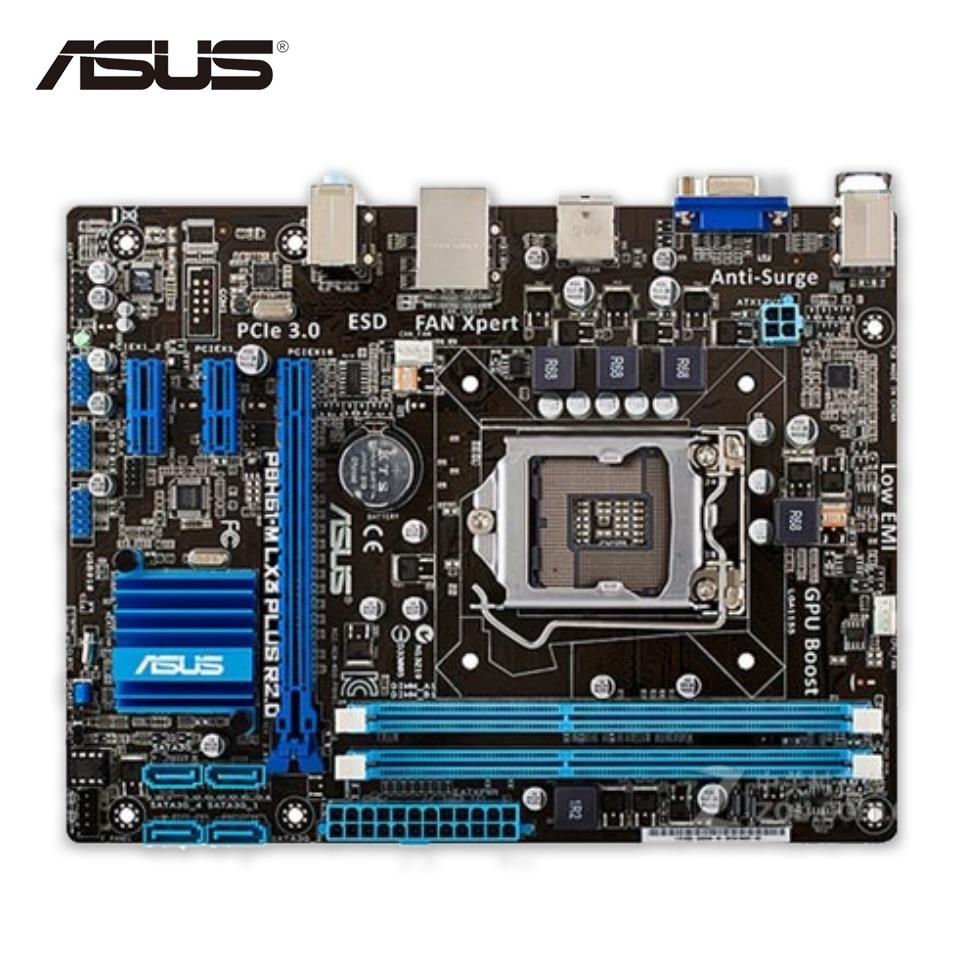 все цены на  Asus P8H61-M LX3 PLUS R2.0 Original Used Desktop Motherboard H61 Socket LGA 1155 i3 i5 i7 DDR3 16G uATX  онлайн