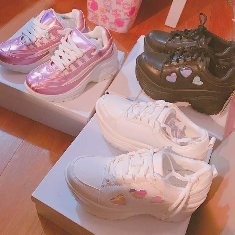 heart platform shoes shopping 5e318 9dae8