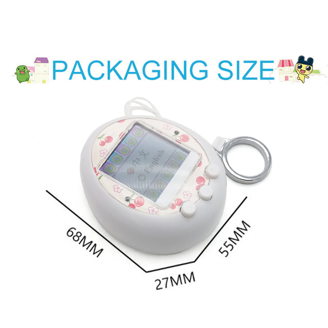 Hot !  for Tamagotchi Cartoon Electronic Pet Game Handheld game machine game Console Virtual Pet Kids Toy Gift 2