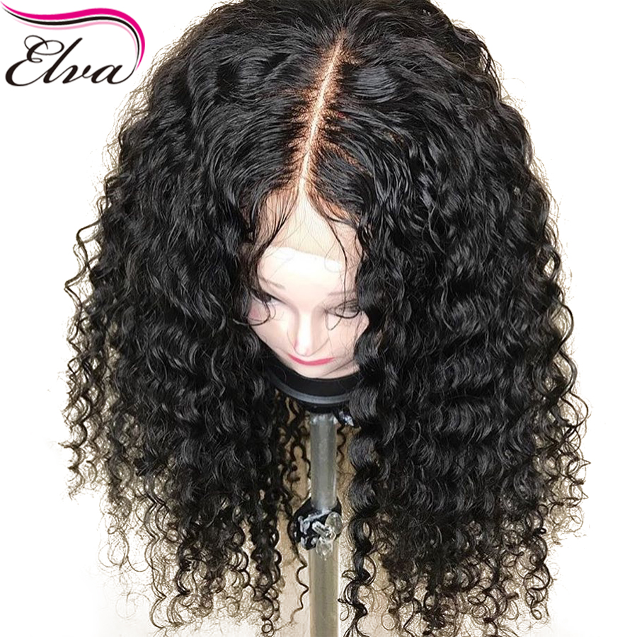 150% Density 13x6 Lace Front Wig Deep Part Lace Front Human Hair Wigs For Women Brazilian Curly Remy Hair Wigs With Baby Hair