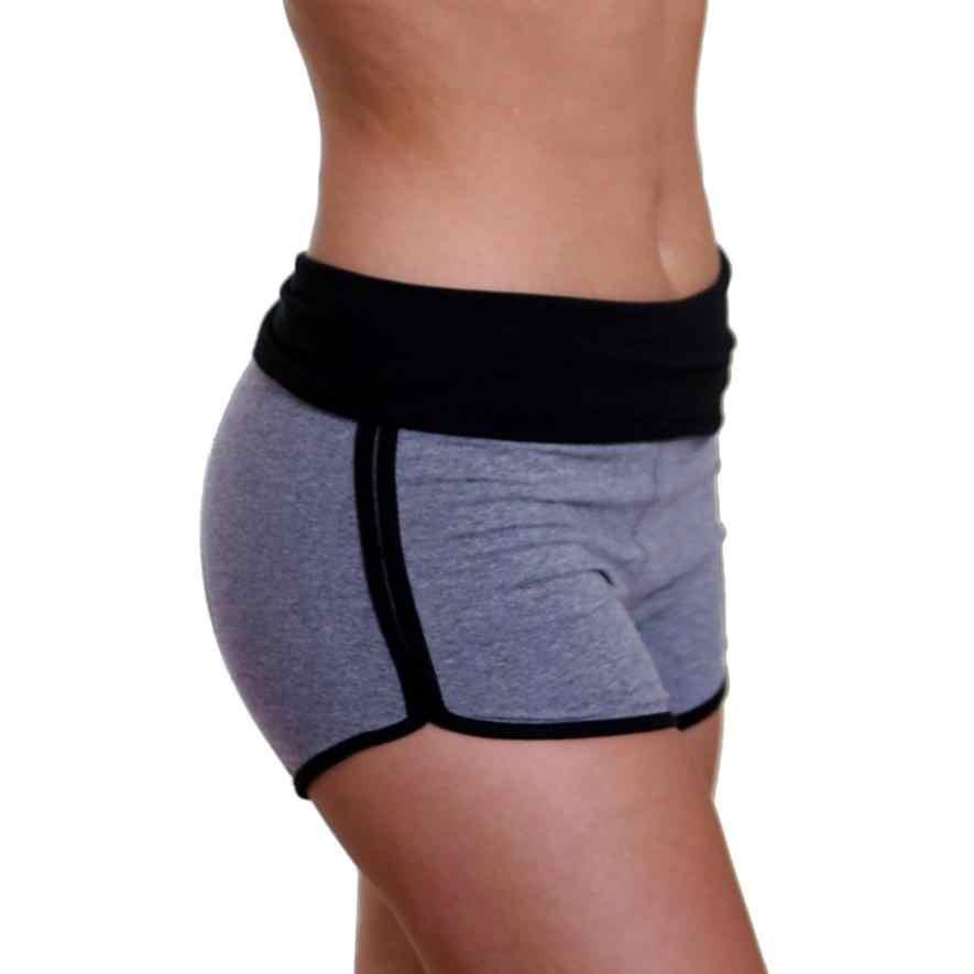Mulheres calções de treinamento de esportes de fitness YOGA Recortada Leggings estiramento fêmea correndo calças curtas ginásio sweatpants treino roupas # cz