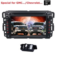 For GMC Sierra 1500 2500HD 3500HD Car Radio DVD Player GPS Navigation Fit GMC Yukon Sierra Chevrolet Chevy Tahoe Suburban CAMMAP