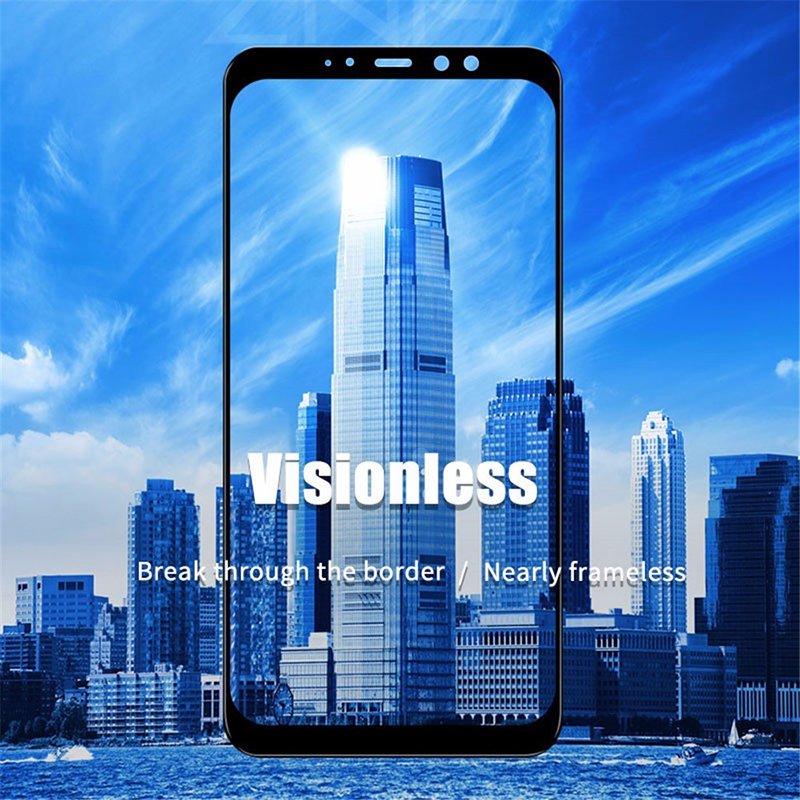 Nicotd New 9D For Samsung A8 A7 A9 J8 2018 Tempered Glass For Samsung Galaxy A6 Plus J6 A7 A9 J2 Pro 2018 Screen Protector Film (2)